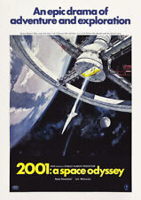 2001: A SPACE ODYSSEY 1968 Stanley Kubrick – Movie Cinema Poster Art
