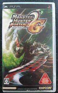 Monster Hunter Portable 2nd G Japanese Sony PsP