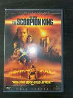 The Scorpion King DVD Full Screen Collector's Edition Action Movie