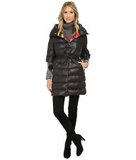 NWT MISSONI DUCK DOWN FEATHER PUFFER COAT WINTER SIZE 44 46 KNIT BLACK COLOR