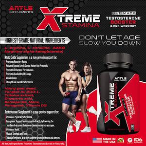 Testosterone Booster Horny Goatweed Tribulus Terrestris D-Aspartic Acid Maca