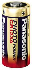 30 pieza Panasonic CR 123 litio Photo Batería 3 voltios 30x