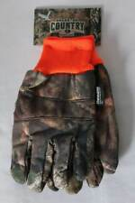 NEW Mens Mossy Oak Break-Up Country Camouflage Hunting Gloves Thinsulate 40g
