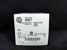 ALLEN BRADLEY 800T-U29 30.5mm Potentiometer Unit, 10 Kilohms Resistive Element