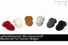 Selbstklebender Mikrofaserstoff - ähnlich Alcantara - Musterset
