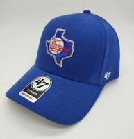 Texas Rangers Cooperstown hat cap nwt new '47 Brand blue adjustable MLB MVP