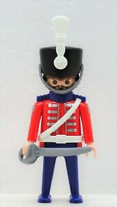 Proud Guard Husar Playmobil To 5580 Nostalgie Soldier Cavalry Victorian RAR