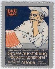 Germany Cinderella: Exhibition of Bakery, Pastry Trades, Altona, 1912 - 59.44