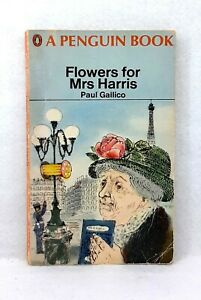 Flowers for Mrs.Harris by Paul Gallico vintage paperback 1968 Penguin novel