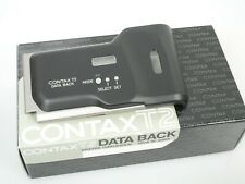 CONTAX T2 Datenrückwand DataBack Data Back Top OVP  boxed  *ANKAUF*