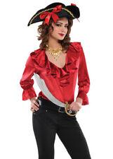 Camicia da Donna Rosso Pirata