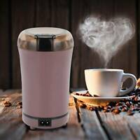 300W Electric Coffee Grinder Bean Spice and Nut Mill Blender Stainless Steel On