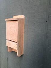 3 Chamber Wood Bat House