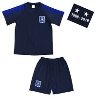 Kit Short + Maillot de Football Enfant FRANCE - 2019 - Deux étoiles -