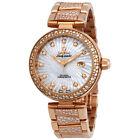 Omega De Ville Ladymatic Automatic Ladies 18 Carat Rose Gold Watch