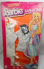 Vintage Supersize Barbie white suit Mip