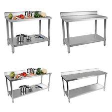 Tisch Arbeitstisch Edelstahltisch Küchentisch Edelstahl Gastro Aufkantung Küche
