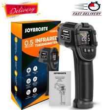 Infrared Thermometer Digital Ir Laser Temperature Gun Highamplow Temperature Alarm