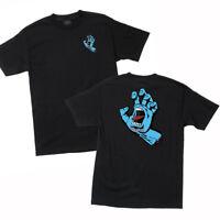 Santa Cruz Screaming Hand T Shirt Tee Skateboard Black Brand New S M L XL XXL