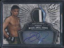2012 Topps UFC Bloodlines MIGUEL ANFEL TORRES autograph relic /199