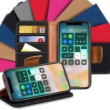 Klapphülle Apple iPhone Schutzhülle Schutz Tasche Handy Cover Flip Case Hülle