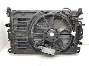 13-19 LINCOLN MKZ Radiator Fan Condensor Set 37k miles