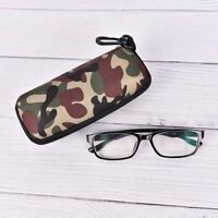 Glasses Box Sunglasses Case Camouflage Storage Protector zipper Container TKDD