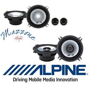 ALPINE SXE-1350S SXE-1325S Kit 6 casse 13cm PER BMW SERIE 3 5 7 ALTOPARLANTI