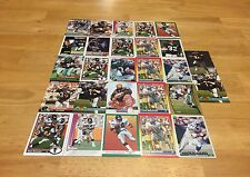 STEVE BROUSSARD LOT OF 27 FOOTBALL CARDS FALCONS RB SEAHAWKS BENGALS WASH STATE
