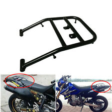 Black Rear Luggage Rack Shelve Fender Support For SUZUKI DRZ400 DR-Z400S DRZ400M