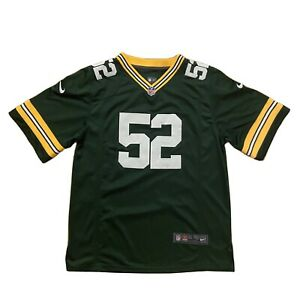 Nike Youth Large NFL Green Bay Packers Clay Matthews On Field Home Green Jersey