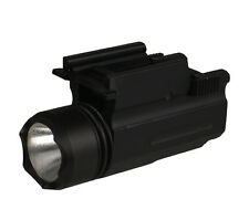 220 Lumen Quick Detach Flashlight For Full Size Come With a Cr123A Battery