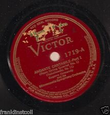 Eugene Ormandy, Philadelphia Or on 78 rpm 1719: Andante Cantabile (in 2 parts)