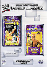 WWE - Wrestlemania 1 And 2 (DVD, 2004, 2-Disc Set)