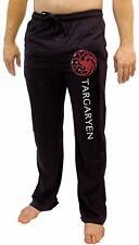 Game Of Thrones House Of Men'S Pajama Pant Costume  Lounge Sleep Black