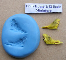 Budgerigar Silicone Bird Mould, Mold, Sugarcraft Jewellery Card Topper Food Safe