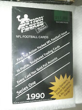 1990 Action Packed foball Sealed Box Bonus Superstar Pin/NFL Prototype Card!