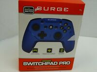 Surge SwitchPad Pro Wireless Controller for Nintendo Switch - Blue