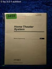 Sony Bedienungsanleitung HT BE1 Home Theater System (#3459)