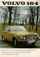 Volvo 164 1969-70 UK Market Foldout Sales Brochure