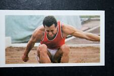 Long Jump   Lynn Davies    Photo Card  VGC
