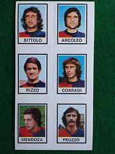 CALCIATORI 1974-75 74-1975 n 569 GENOA PRUZZO ecc.. Figurina Sticker Panini NEW