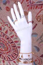 Pvc White Gloss Mannequin Left Hand For Jewellery Rings Gloves Bracelet Bangle