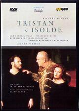2.DVD WAGNER TRISTAN UND ISOLDE Waltraud Meier ZUBIN MEHTA Jon Fredric West Moll