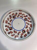 "Schlitz Brewing Company Beer 12"" Metal Serving Tray Platter Many Logos Vintage"