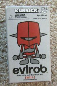 Medicom Devil Robot Kubrick Evirob WILL In Sealed Box
