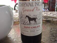 1990er chateau cheval noir, grand vin, 6 bouteilles