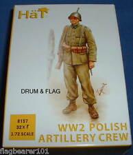 Cappello 8157-ww2 Polish Artiglieria Equipaggio - 1/72 scala in plastica