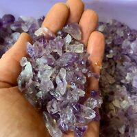 500 Carat Lots of (SMALL) Amethyst Points -  Plus a FREE Faceted Gemstone