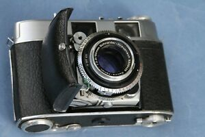 Use a Classic - Kodak RETINA IIC (Big C) in Case – Only Made for One Year 1958!